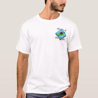 Planet des Trauben-Brust-Shirts T-Shirt