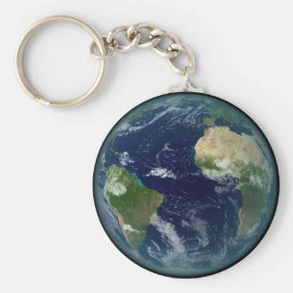 Planet Erde Schlüsselanhänger