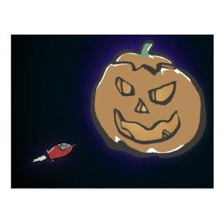 Planet Halloween Postkarte