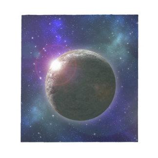 Planet von Träumen, Notizblock