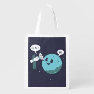 Planet Wiederverwendbare Einkaufstasche