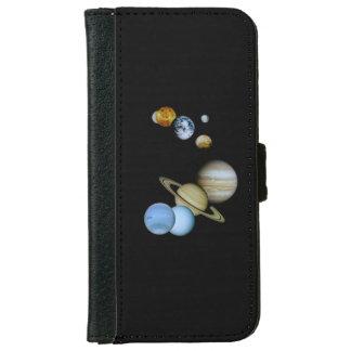 Planetarische Montage Geldbeutel Hülle Für Das iPhone 6/6s