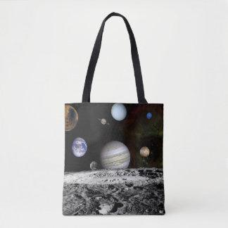 Planetarische Montage Tasche