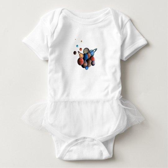 Planeten Baby Strampler