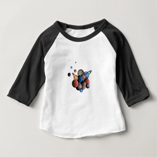 Planeten Baby T-shirt