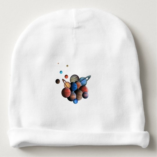 Planeten Babymütze