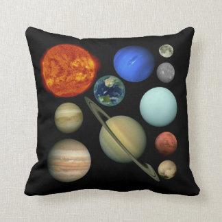 Planeten des Sonnensystem Kissen