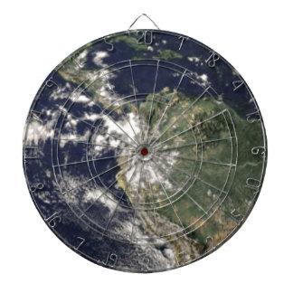 Planeten-Erde Dartscheibe