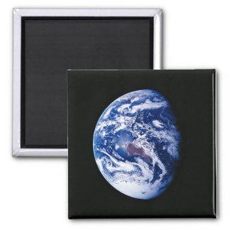 Planeten-Erde Quadratischer Magnet