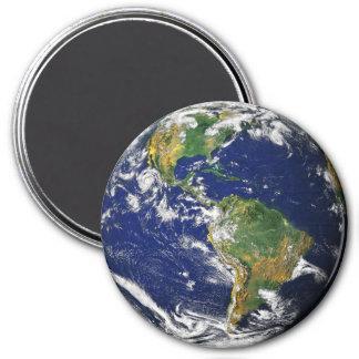 PLANETEN-ERDE (Sonnensystem) ~ Runder Magnet 7,6 Cm