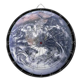 Planeten-Erde - unsere Welt Dartscheibe