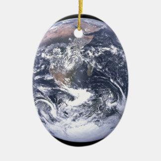Planeten-Erde - unsere Welt Keramik Ornament