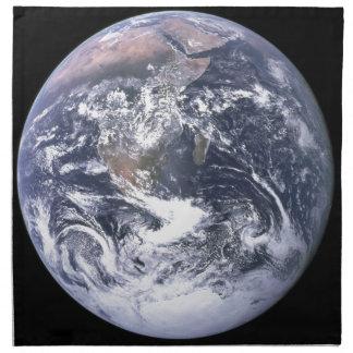 Planeten-Erde - unsere Welt Stoffserviette