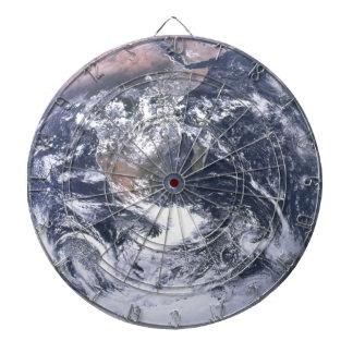 Planeten-Erde vom Raum-Tag der Erde Dartscheibe