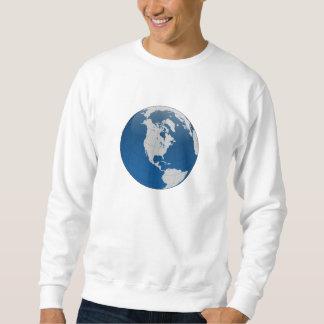 Planeten-Erdkugel Sweatshirt
