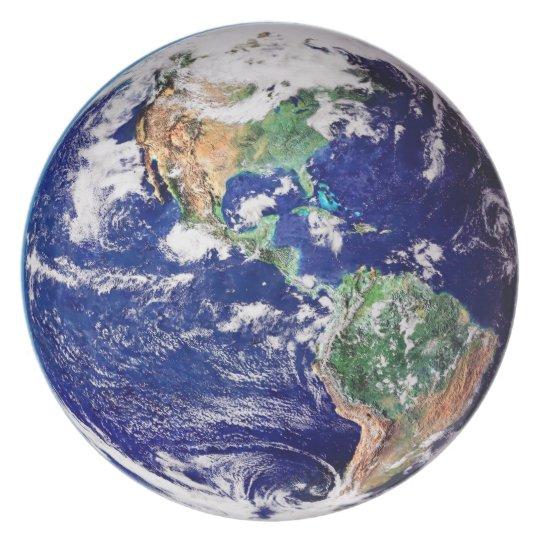 Planeten-Erdmelamin Melaminteller