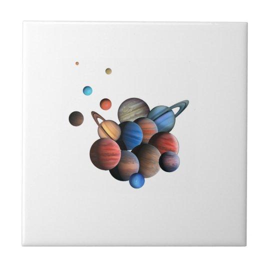 Planeten Fliese