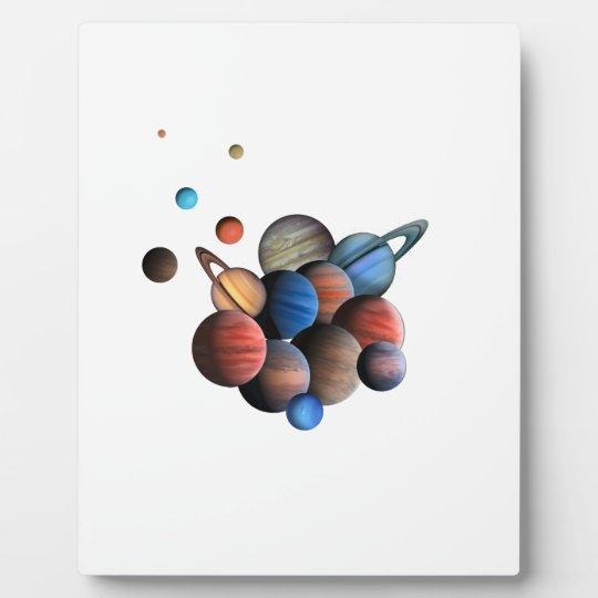 Planeten Fotoplatte