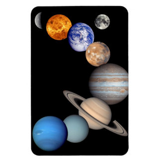 Planeten-Fotos Solarsystemmontage-JPL Magnet