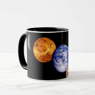 Planeten-Fotos Solarsystemmontage-JPL Tasse