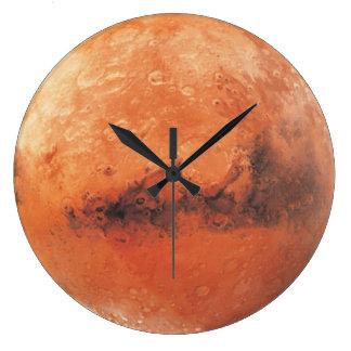 Planeten-Mars Astronomie-Liebhaber Wand-Uhr Große Wanduhr