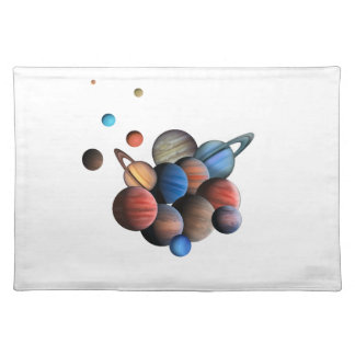 Planeten Tischset