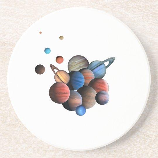 Planeten Untersetzer