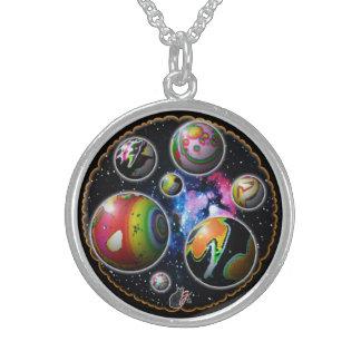 Planetoids Sterling Silberkette