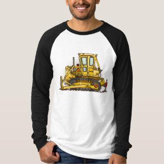 Planierraupen-Bulldozer-Erwachsen-Shirt T-Shirt