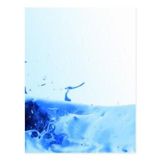 Plasma-Spritzen Postkarte