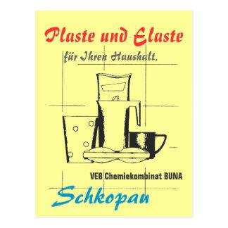Plaste und Elaste DDR Postkarte