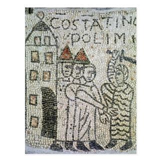 Plasterung von Johannes der Evangelist Postkarte