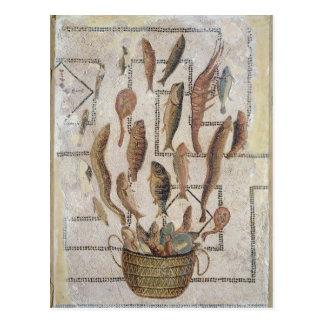 Plasterung, welche die Fische entgehen von einem Postkarte