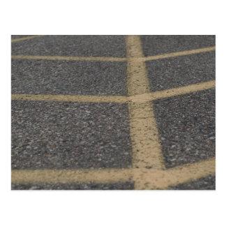 Plasterungs-Fotografie Postkarte