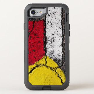 Plasterungs-Straßen-Farben-Kunst - cool - Spaß OtterBox Defender iPhone 8/7 Hülle