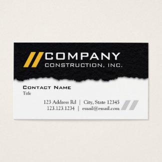 Plasterungs-Themed berufliche Geschäfts-Karte Visitenkarte