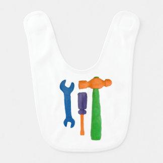Plasticine-Werkzeuge Lätzchen