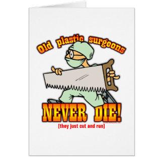 Plastische Chirurgen Grußkarte