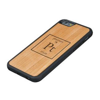 Platin Bumper iPhone 6 Hülle Kirsche