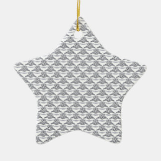 Platin-Diamant-Ring Weihnachtsbaum Ornamente