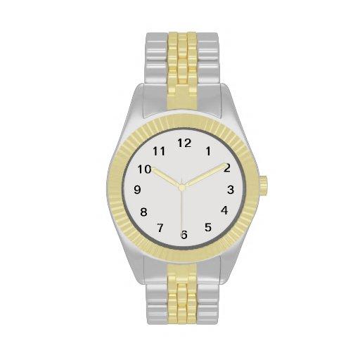 Platin-Farbig Uhren