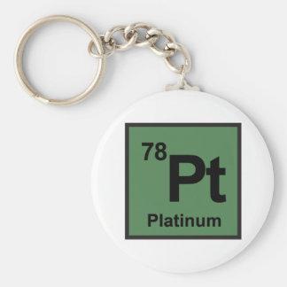 Platin Keychain Standard Runder Schlüsselanhänger