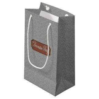 Platin-kleine Geschenk-Tasche Kleine Geschenktüte
