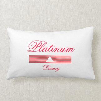Platin-Luxus-Kissen Zierkissen