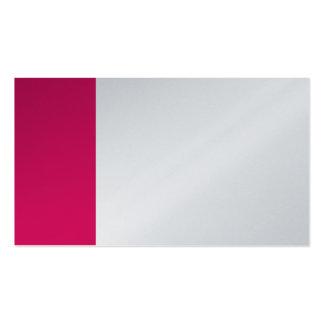 Platin und karminrotes rotes Geschäft Visitenkarten