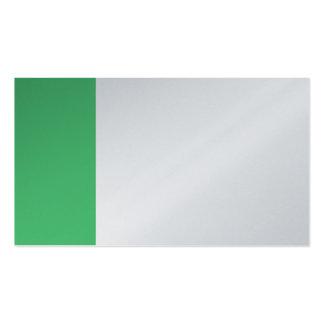 Platin-und Smaragd-Geschäft Visitenkarten