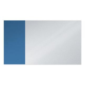 Platin-und Stahlblau-Geschäft Visitenkarten