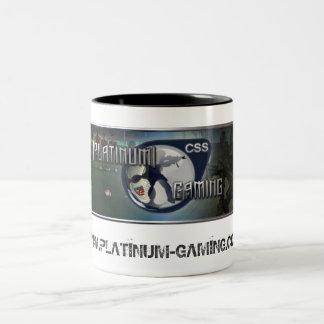 Platin, WWW.PLATINUM-GAMING.CO.UK Zweifarbige Tasse