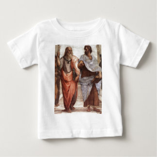 Plato und Aristoteles Baby T-shirt