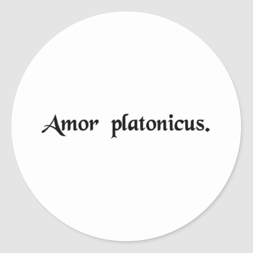 Platonische liebe sticker